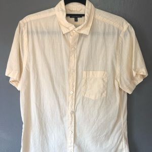 Express Men's Short Sleeve Button Down